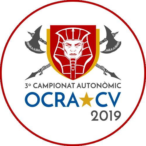 Logotipo Campeonato OCRA CV. Asociación de Carreras de Obstáculos de las Comunidad Valenciana