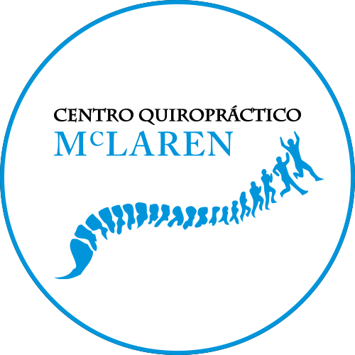 Logotipo Centro Quiropractico Mc Laren OCRA CV. Asociación de Carreras de Obstáculos de las Comunidad Valenciana