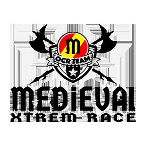 Logotipo Medieval OCR Team. OCRA CV. Asociación de Carreras de Obstáculos de las Comunidad Valenciana