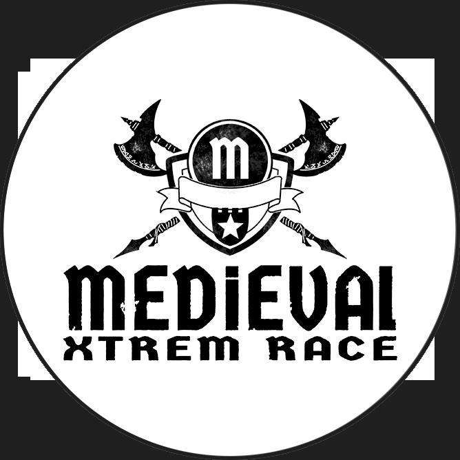Logotipo Medieval Xtrem Race OCRA CV. Asociación de Carreras de Obstáculos de las Comunidad Valenciana