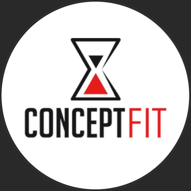 Logotipo Concept Fit OCRA CV. Asociación de Carreras de Obstáculos de las Comunidad Valenciana