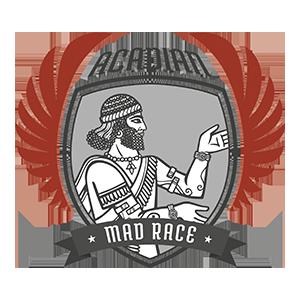 Logotipo Acadian Mad Race OCRA CV. Asociación de Carreras de Obstáculos de las Comunidad Valenciana