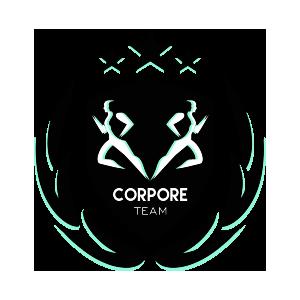 Logotipo GRD Corpore Team OCRA CV. Asociación de Carreras de Obstáculos de las Comunidad Valenciana