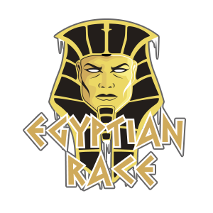Logotipo Egyptian Race OCRA CV. Asociación de Carreras de Obstáculos de las Comunidad Valenciana