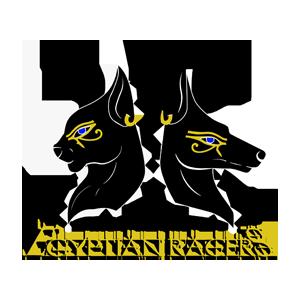 Logotipo GRD Egyptian Racers OCRA CV. Asociación de Carreras de Obstáculos de las Comunidad Valenciana