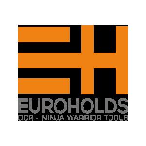Logotipo EuroHolds OCRA CV. Asociación de Carreras de Obstáculos de las Comunidad Valenciana