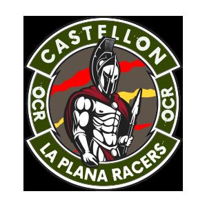 Logotipo GRD La Plana Racers Castellón OCRA CV. Asociación de Carreras de Obstáculos de las Comunidad Valenciana