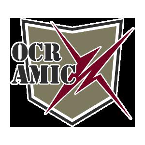 Logotipo GRD OCR AmicX OCRA CV. Asociación de Carreras de Obstáculos de las Comunidad Valenciana