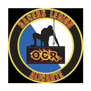 Logotipo GRD Racers Legion Alicante OCRA CV. Asociación de Carreras de Obstáculos de las Comunidad Valenciana