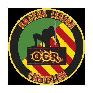 Logotipo GRD Racers Legion Castellón OCRA CV. Asociación de Carreras de Obstáculos de las Comunidad Valenciana