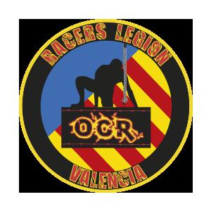 Logotipo GRD Racers Legion Valencia OCRA CV. Asociación de Carreras de Obstáculos de las Comunidad Valenciana