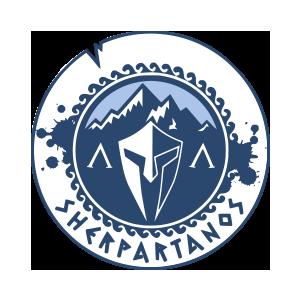 Logotipo GRD Sherpartanos OCRA CV. Asociación de Carreras de Obstáculos de las Comunidad Valenciana