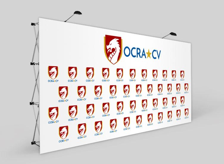 Photocall Patrocinio OCRA CV. Asociación de Carreras de Obstáculos de las Comunidad Valenciana