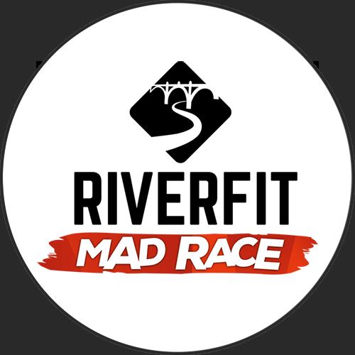 Logotipo Riverfit Mad Race OCRA CV. Asociación de Carreras de Obstáculos de las Comunidad Valenciana